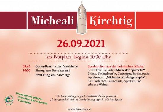 Micheali Kirchtig 2021