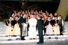 Vatikanbesuch 1991